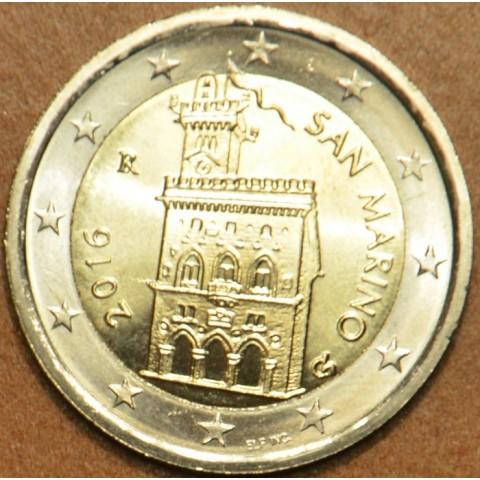 2 Euro San Marino 2016 - Dom vlády (UNC)