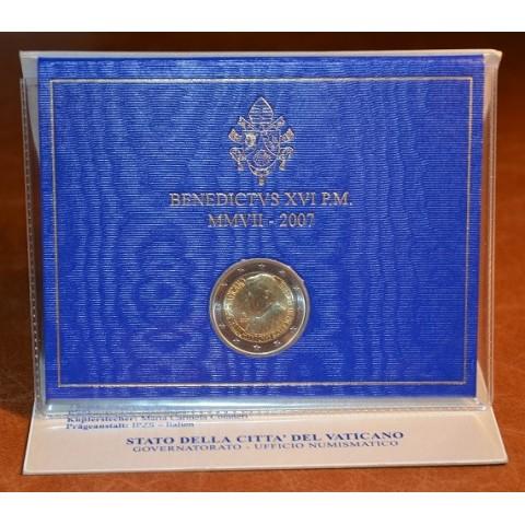 2 Euro Vatikan 2007 - 80. narodeniny pápeža Benedicta XVI. (BU)