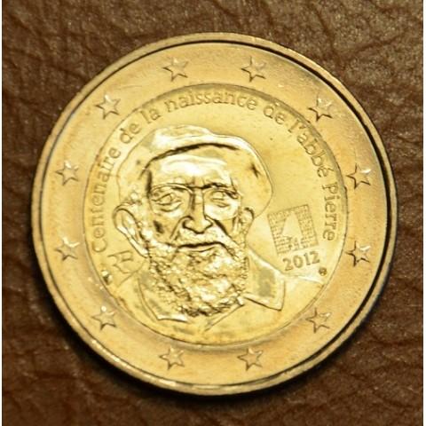 2 Euro Francúzsko 2012 -100. výročie narodenia Abbé Pierre (UNC)