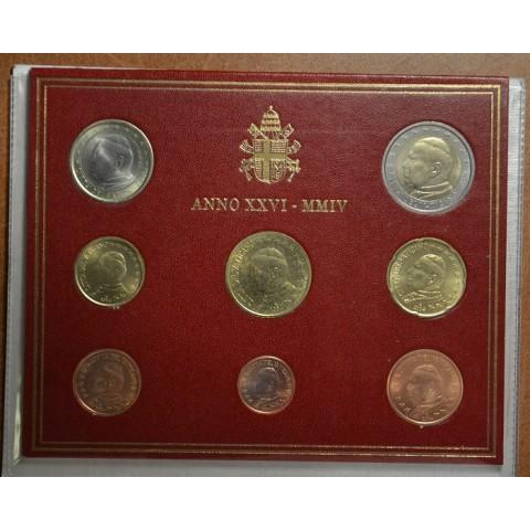 Sada 8 euromincí Vatikan 2004  (BU)