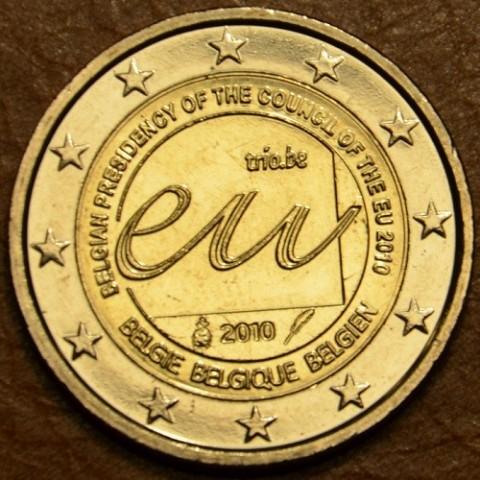 2 Euro Belgicko 2010 - Belgické predsedníctvo EÚ (UNC)