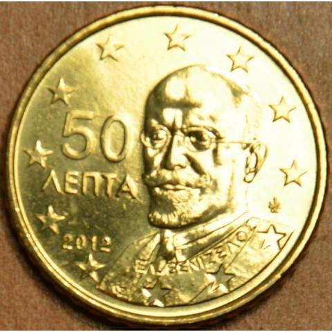 50 cent Grécko 2012 (UNC)