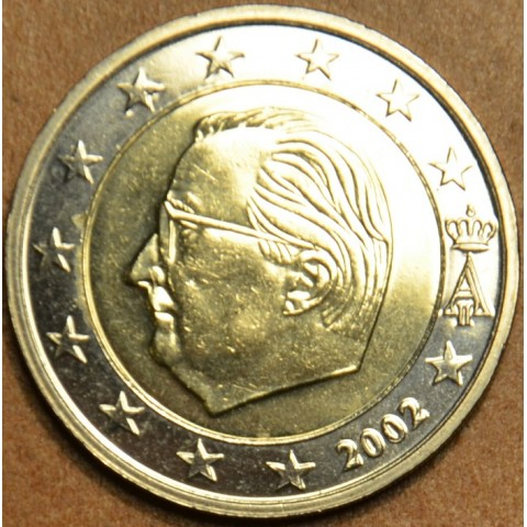 2 Euro Belgicko 2002 - Albert II.  (UNC)