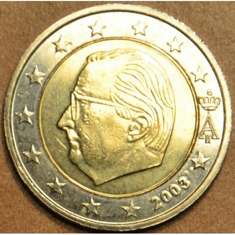 2 Euro Belgicko 2003 - Albert II.  (UNC)
