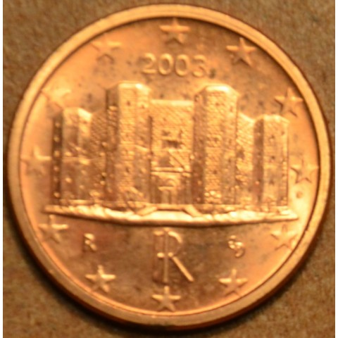 1 cent Taliansko 2003 (UNC)