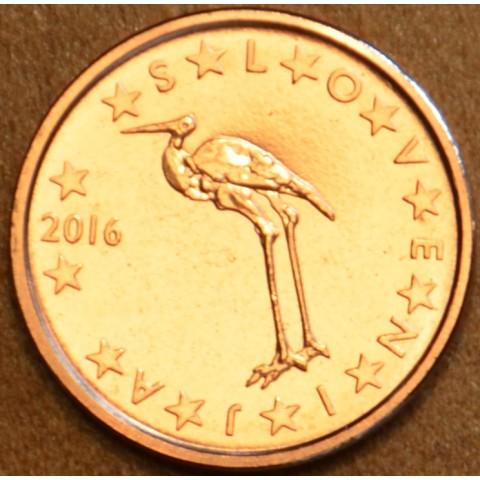 1 cent Slovinsko 2016 (UNC)