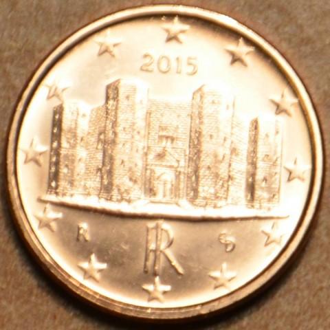 1 cent Taliansko 2015 (UNC)