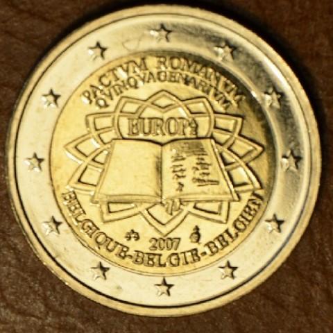 2 Euro Belgicko 2007 - 50 rokov Rímskej zmluvy (UNC)