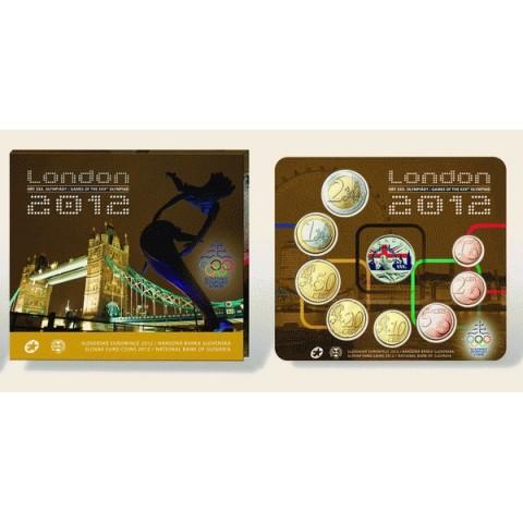 Súbor 8 Slovenských mincí 2012 London (BU)