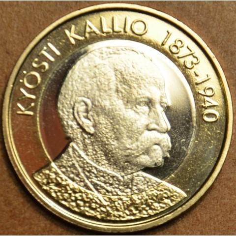 5 Euro Fínsko 2016 - Kyösti Kallio (UNC)
