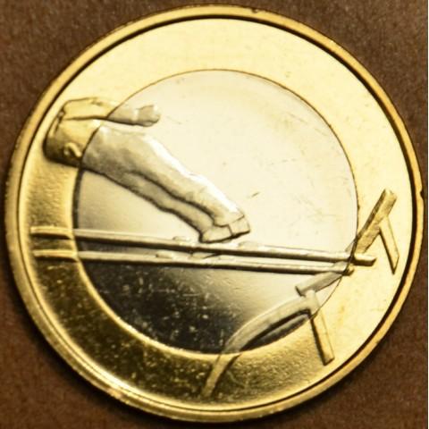 5 Euro Fínsko 2016 - Skok na lyžiach (UNC)