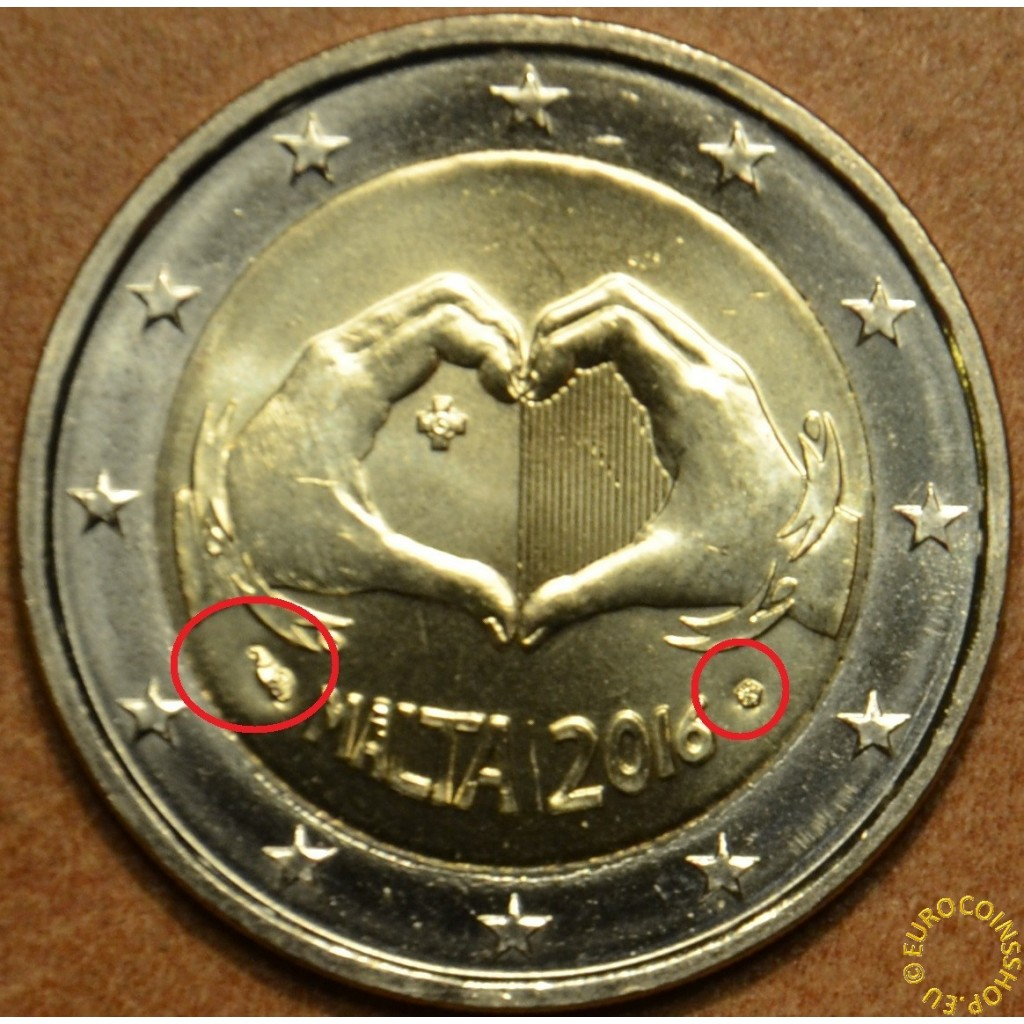 2 Euro Münze Malta