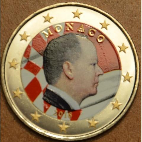 2 Euro Monaco 2016 (farebná UNC)