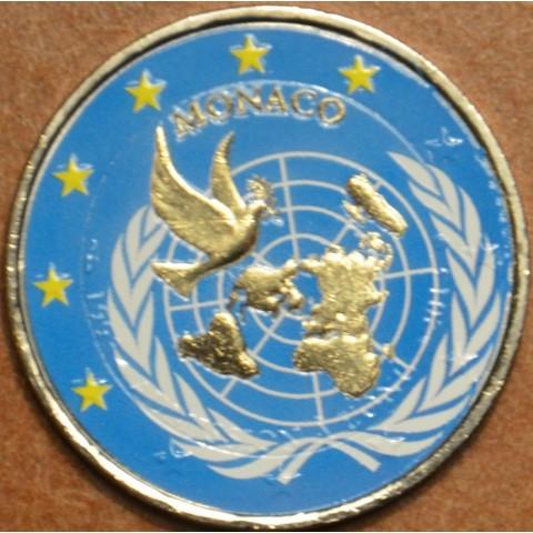 2 Euro Monaco 2013 - 20. výročie členstva v OSN (farebná UNC)