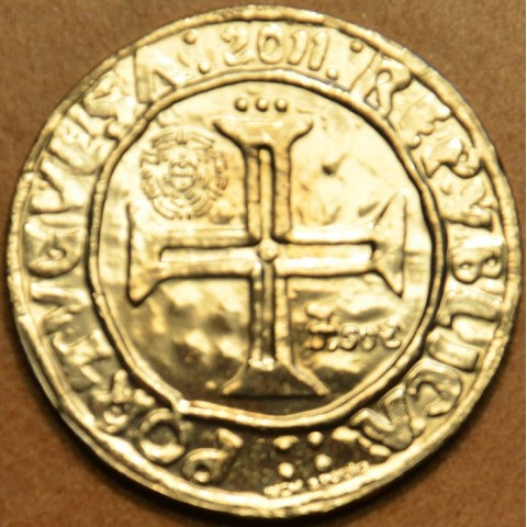 7,5 Euro Portugalsko 2011 - Kráľ Manuel I. (UNC)