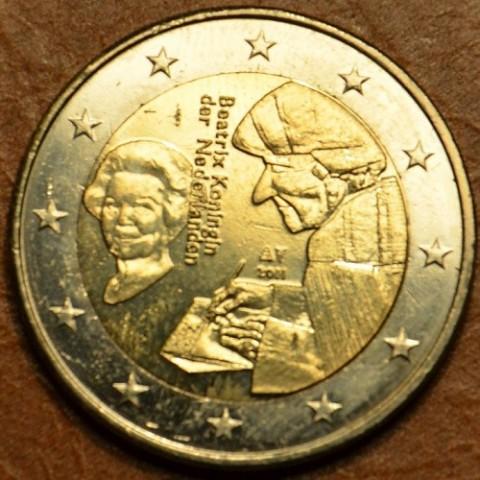 2 Euro Holandsko 2011 - 500. výročie Erasmovej slávnej knihy (UNC)