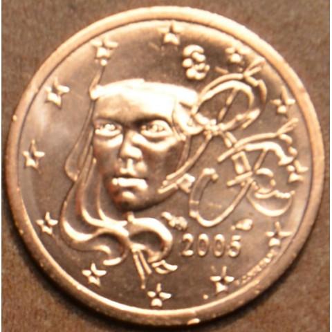 1 cent Francúzsko 2005 (UNC)