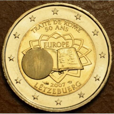 2 Euro Luxemburgsko 2007 - 50 rokov Rímskej zmluvy (UNC)