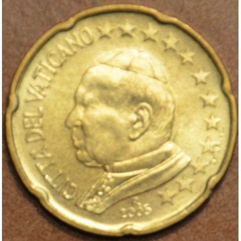20 cent Vatikán Ján Pavol II 2005 (BU)