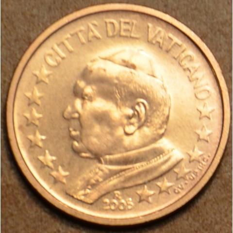 1 cent Vatikán Ján Pavol II 2005 (BU)