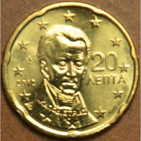 20 cent Grécko 2012 (UNC)