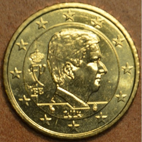 50 cent Belgicko 2014 - Kráľ Filip (UNC)