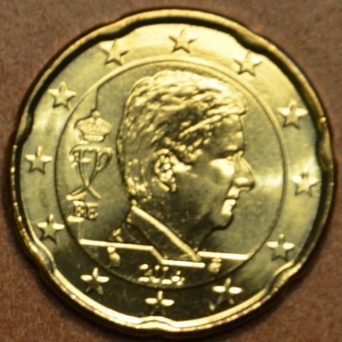 20 cent Belgicko 2014 - Kráľ Filip (UNC)