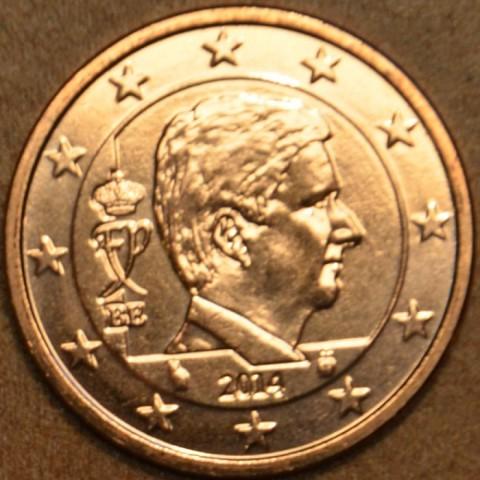 5 cent Belgicko 2014 - Kráľ Filip (UNC)