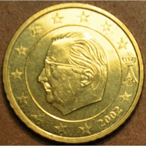 50 cent Belgicko 2002 (UNC)