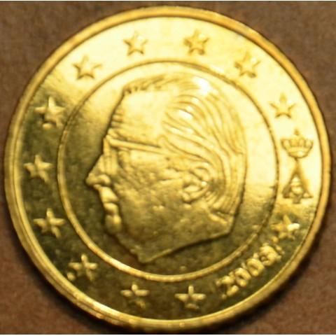 50 cent Belgicko 2003 (UNC)