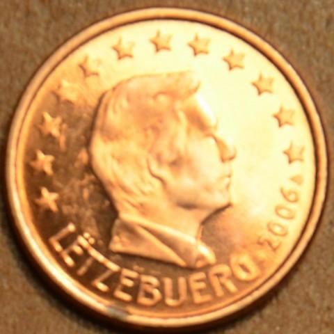 1 cent Luxembursko 2006 (UNC)