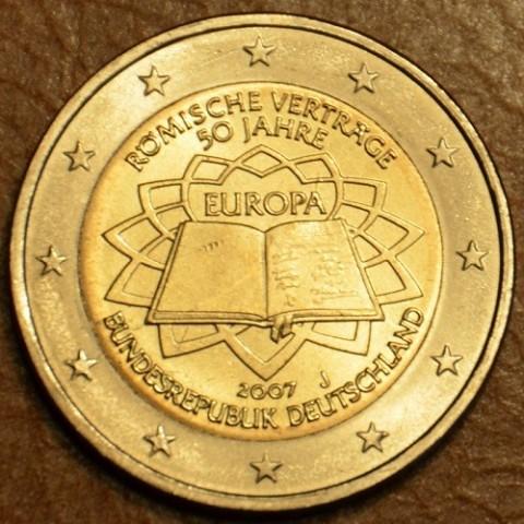 """2 Euro Nemecko """"J"""" 2007 - 50 rokov Rímskej zmluvy (UNC)"""