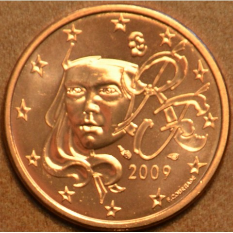 1 cent Francúzsko 2009 (UNC)