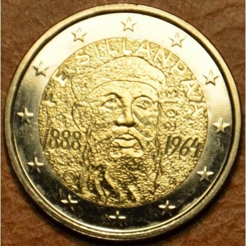 2 Euro Fínsko 2013 - 125. výročie narodenia Frans Eemil Sillanpaa (UNC)