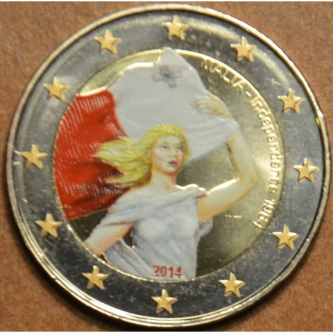 2 Euro Malta - Independency 1964 II. (colored UNC)