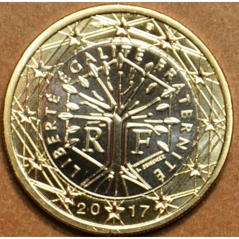1 Euro Francúzsko 2017 (UNC)