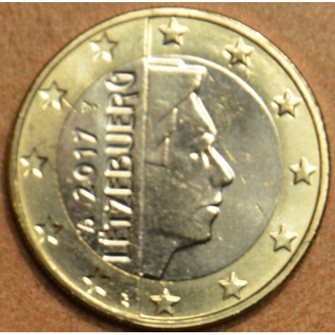 1 Euro Luxembursko 2017 (UNC)