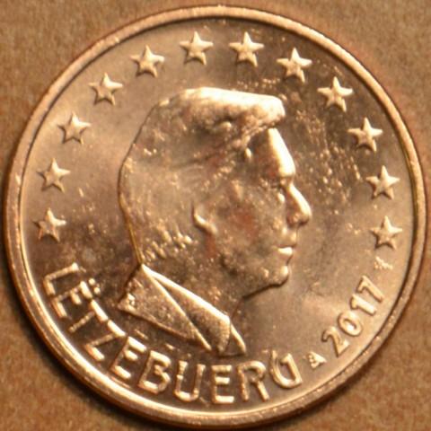 1 cent Luxembursko 2017 (UNC)