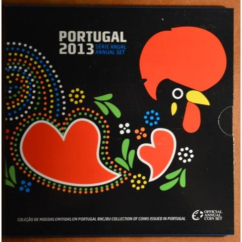 Sada 8 portugalských mincí 2013 (BU)