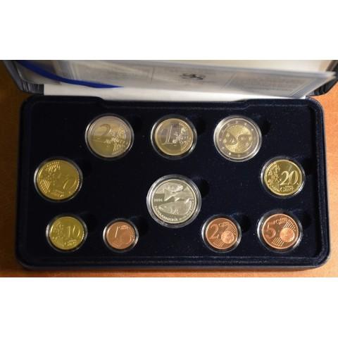 Sada 10 euromincí Fínsko 2006 (Proof)