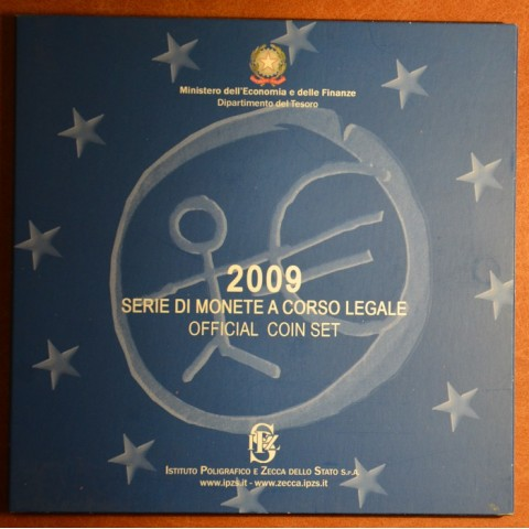 Sada 8 talianskych mincí 2009 (BU)