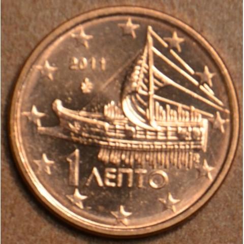 1 cent Grécko 2011 (UNC)