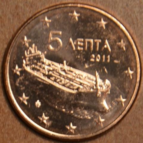 5 cent Grécko 2011 (UNC)
