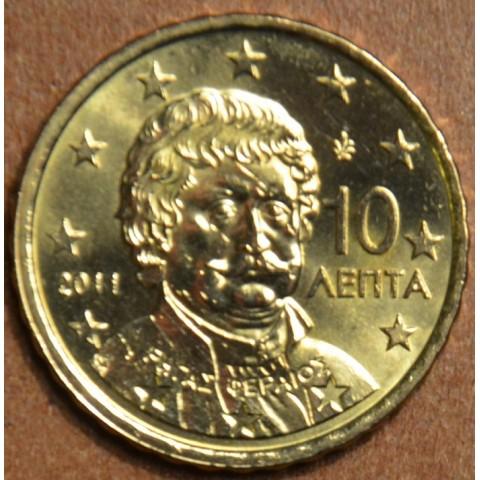 10 cent Grécko 2011 (UNC)