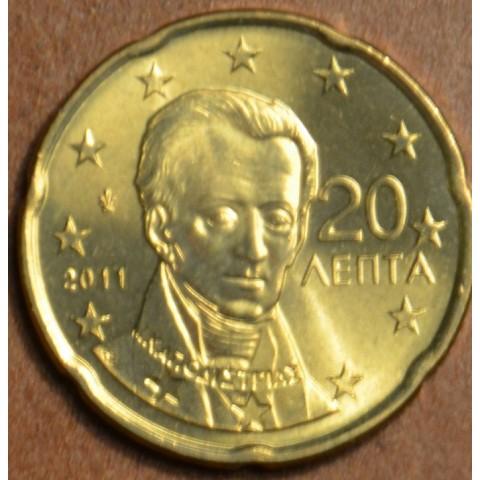 20 cent Grécko 2011 (UNC)