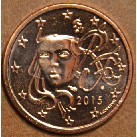 2 cent Francúzsko 2015 (UNC)