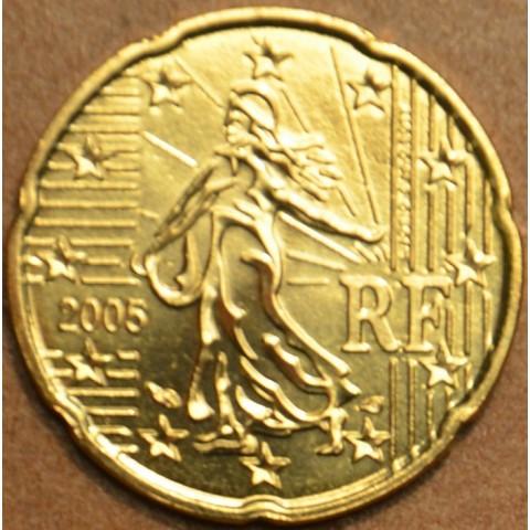 20 cent Francúzsko 2005 (UNC)