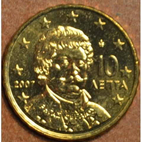 10 cent Grécko 2007 (UNC)