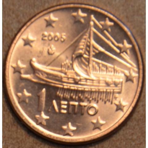 1 cent Grécko 2005 (UNC)