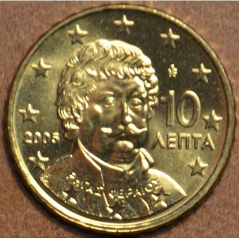 10 cent Grécko 2005 (UNC)